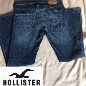 Hollister Mens slim straight jeans